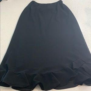 Another Thyme black skirt